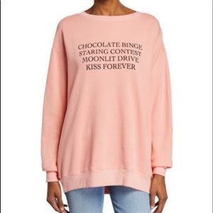 WILDFOX Kiss Forever Roadtrip Sweater